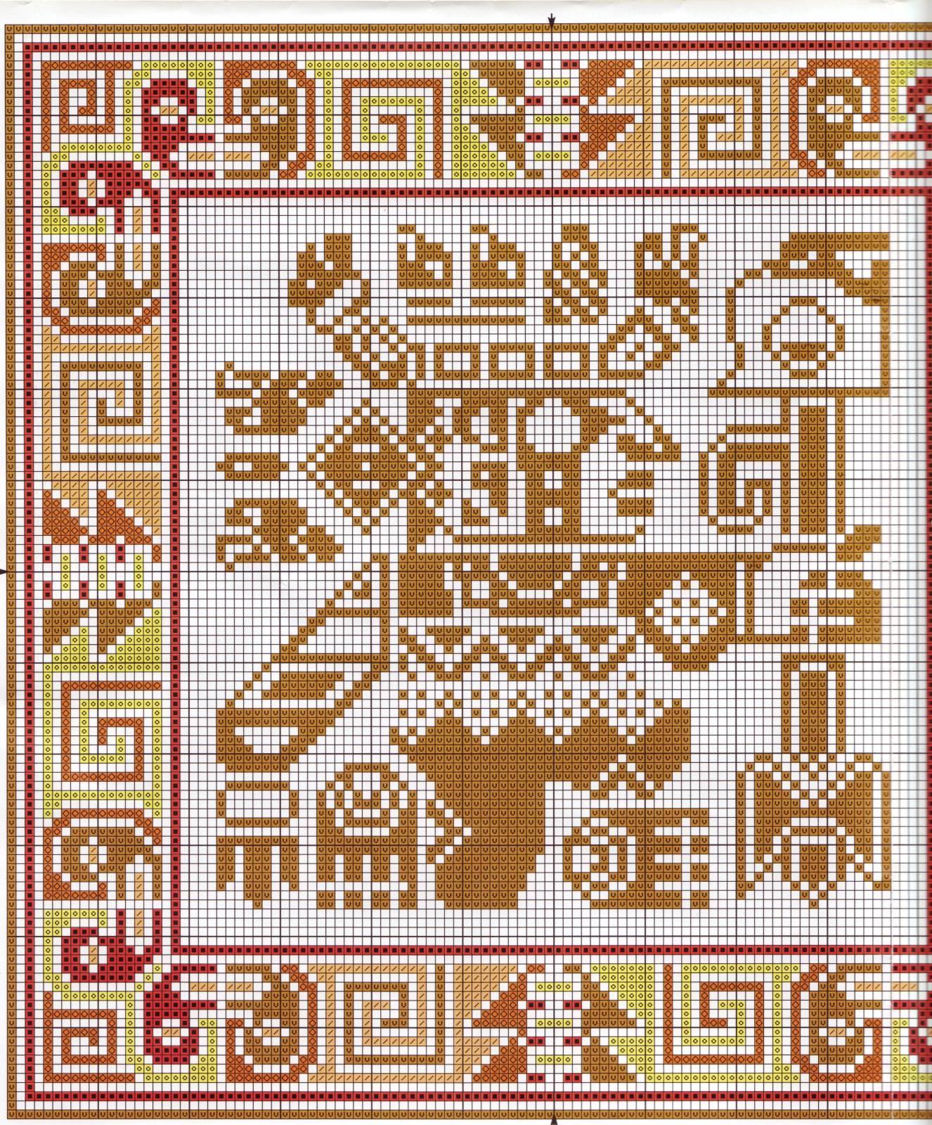 Этнические орнаменты для вязания